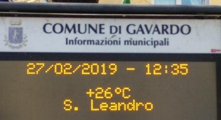 temperatura record Brescia