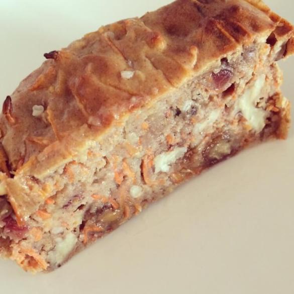 gezond carrotcake brood