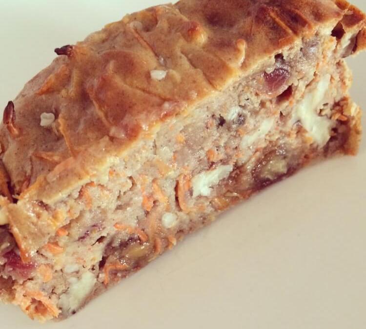 Carrot Cake Brood Om Je Vingers Bij Af Te Likken