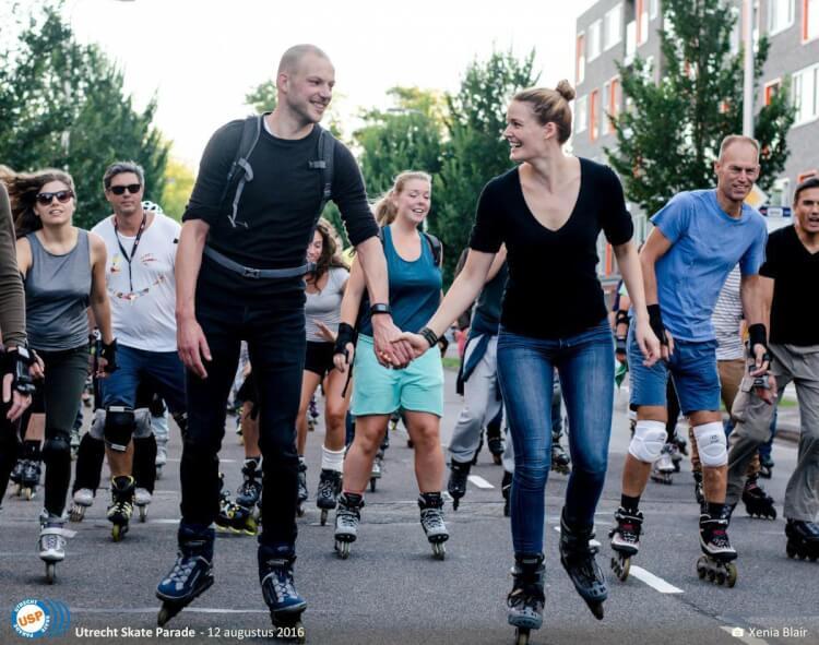 De Utrecht Skate Parade