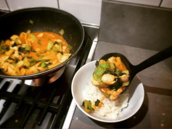 snelle gezonde wokschotel
