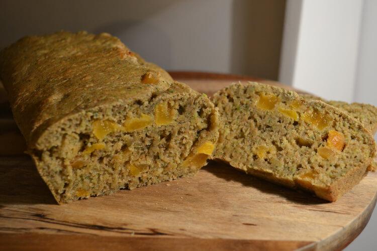 Gezonde Cake Met Courgette & Abrikozen