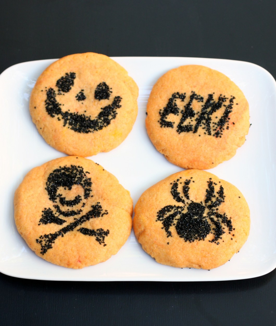 halloween sugar cookies | cartooncreative.co
