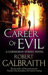 Robert Galbraith: Career of Evil obálka knihy)