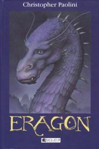 Christopher Paolini: Eragon (obálka knihy)