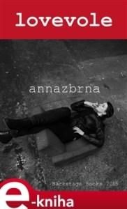 annazbrna: lovevole (obálka knihy)