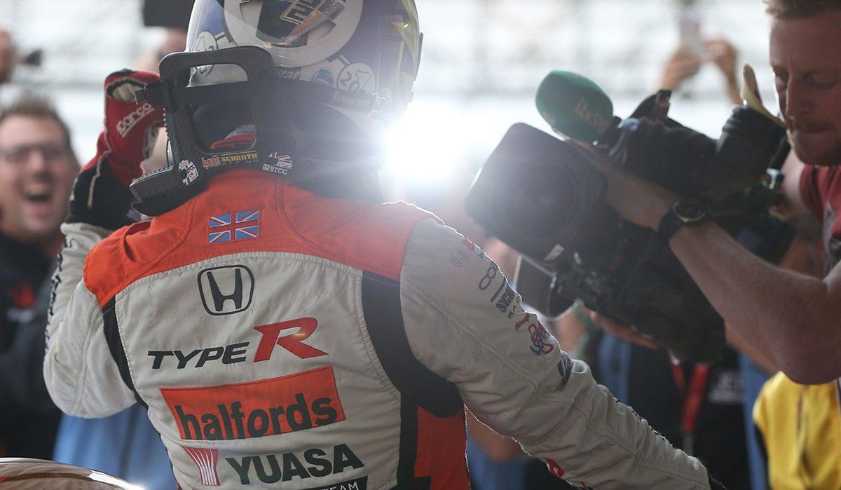 Yuasa Sponsored rally driver