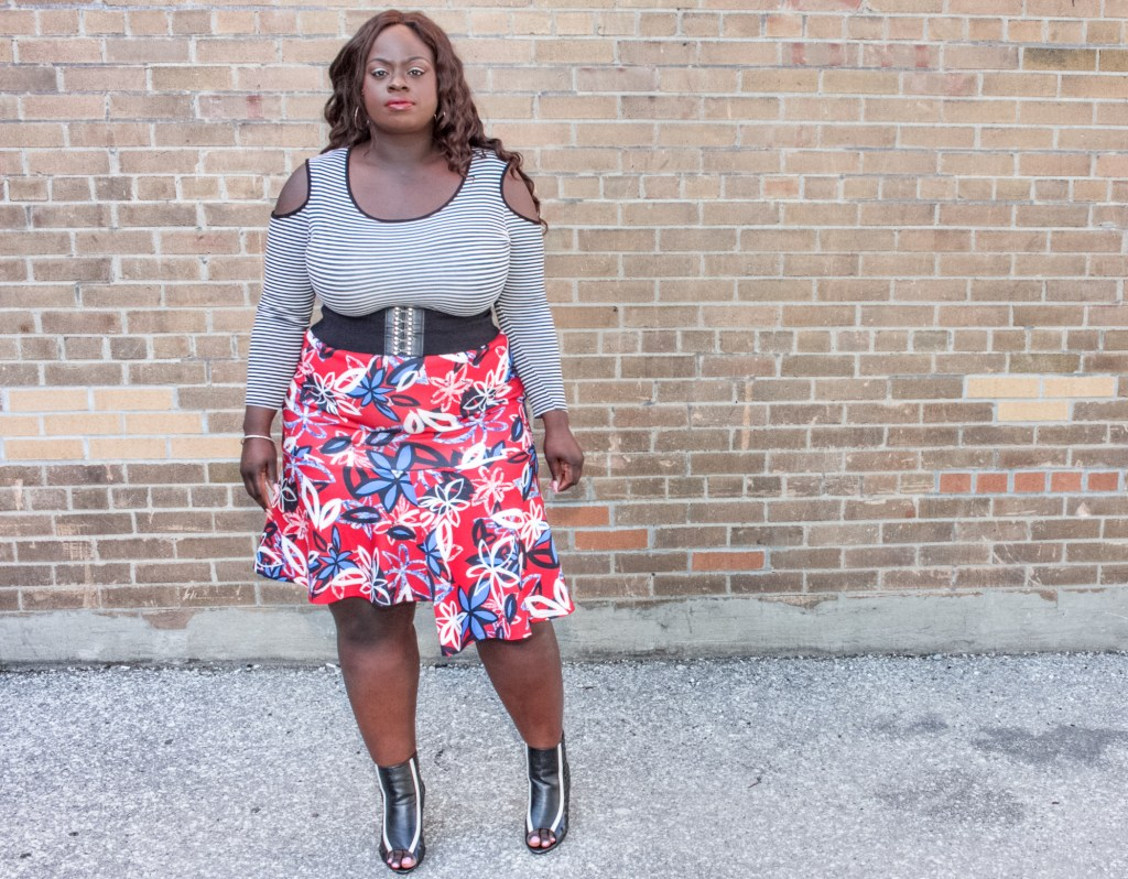 Patrice Rhone Cold Shoulder Outfit 3