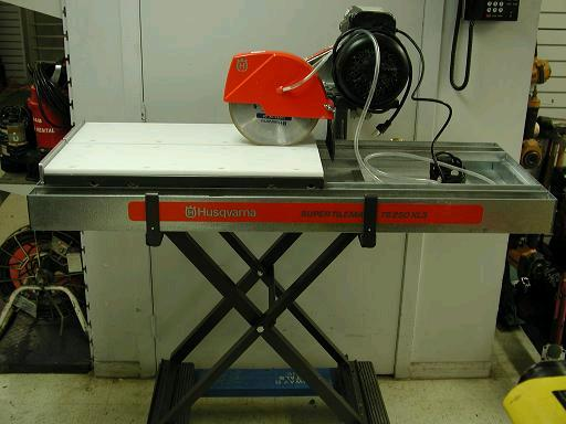 saw tray saw 24 inch wet cut tile large