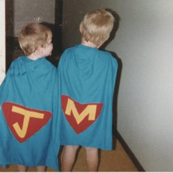 homemade superman capes