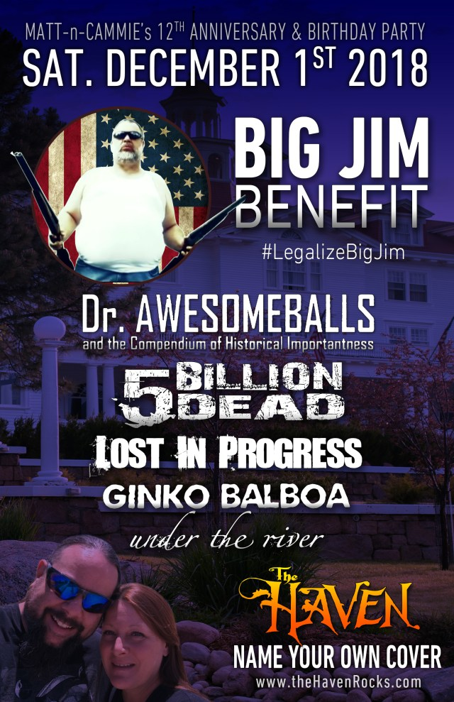 big jim benefit at the haven