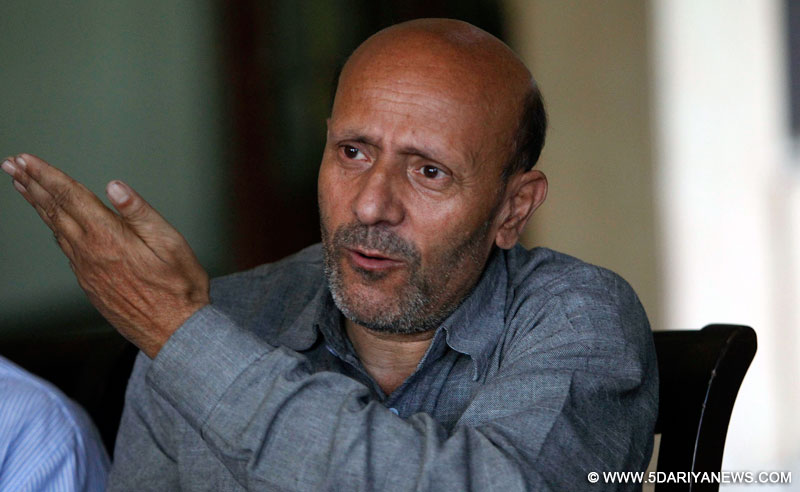 Image result for Er Rasheed Stages Sit-In against Atrocities of Indian Police.