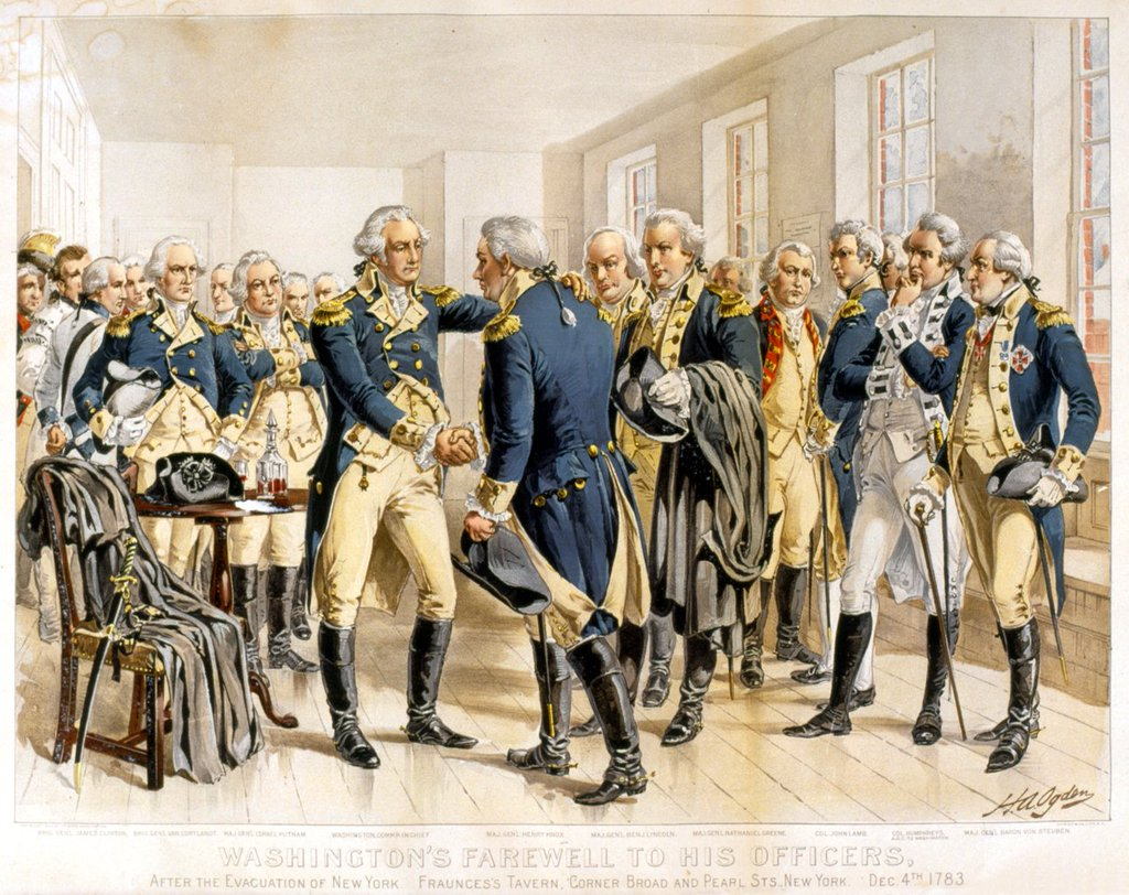 George Washington S Farewell At Fraunces Tavern In Nyc