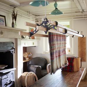 hanging dryer rack