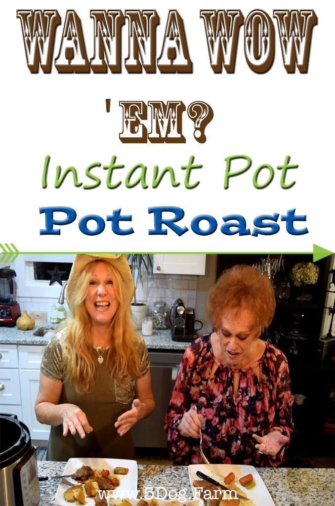 Instant Pot Pot Roast 5 dog farm