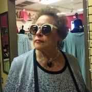 gigi wearing sunglasses 5 dog farm