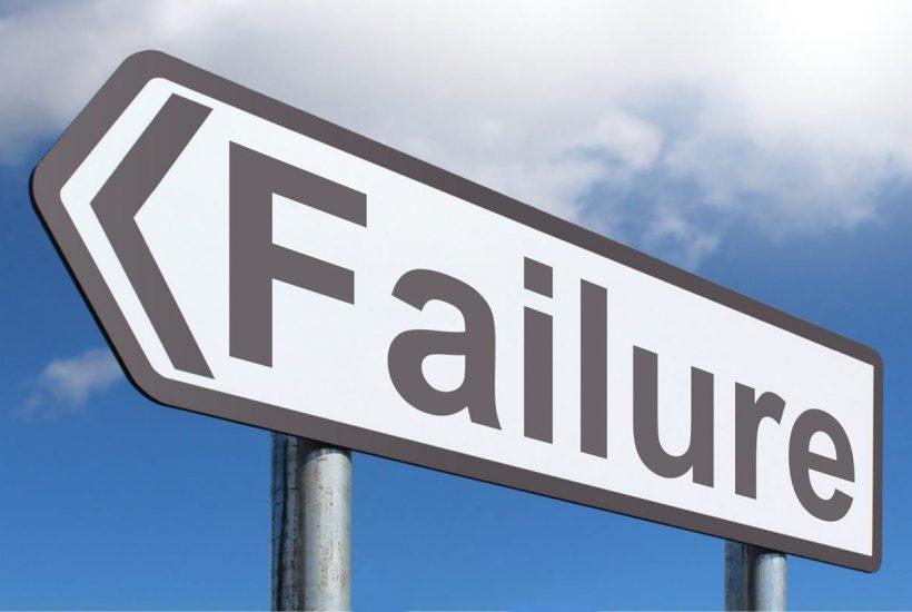failure road sign 5 dog farm