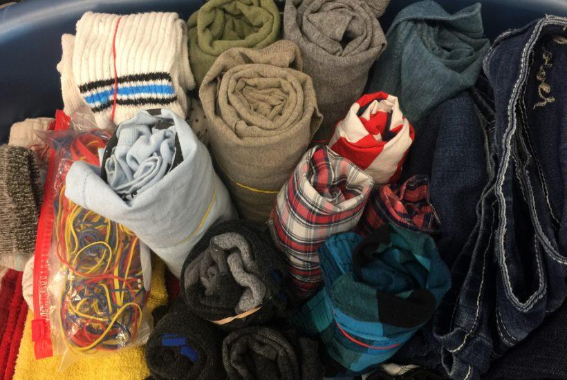Rolled Folded Laundry 5 Dog Farm