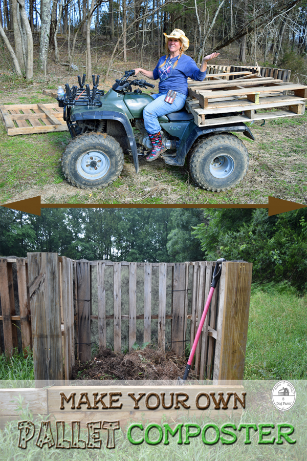 Build Your Own Pallet Composter ~ 5Dog.Farm