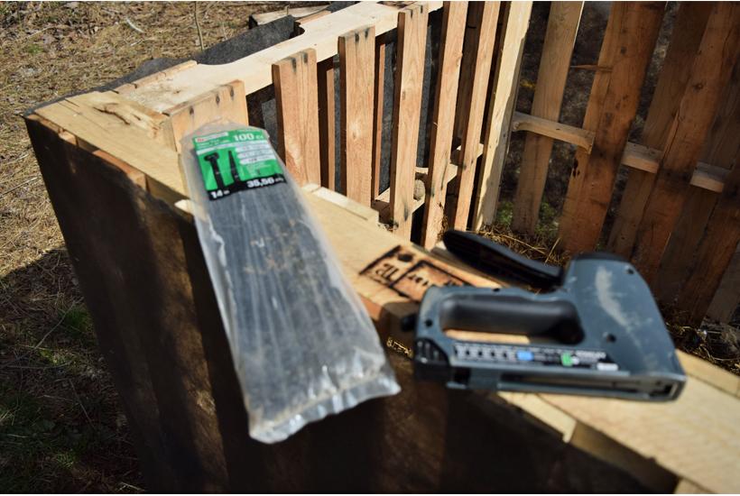 tools to build composter 5dogfarm