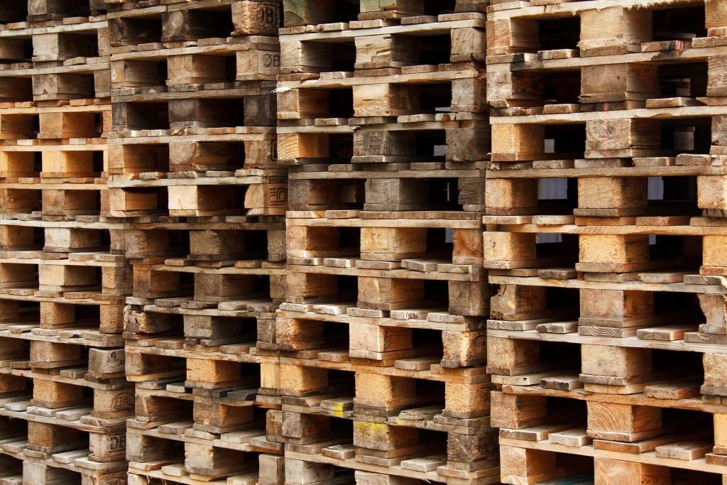 stacks of pallets 5DogFarm