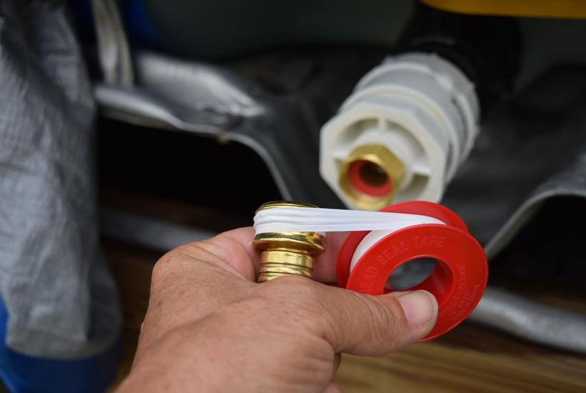 teflon tape for hose 5Dog.Farm