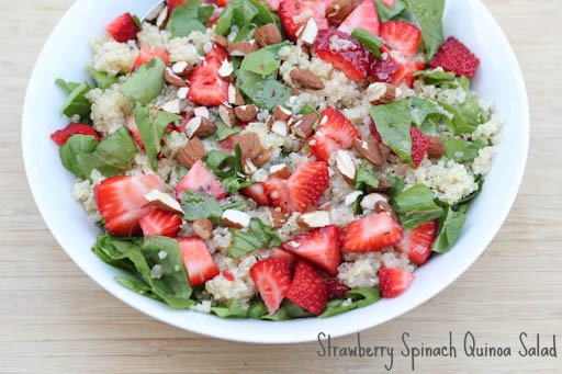 Strawberry Spinach Quinoa Salad Strawberry Spinach Quinoa Salad