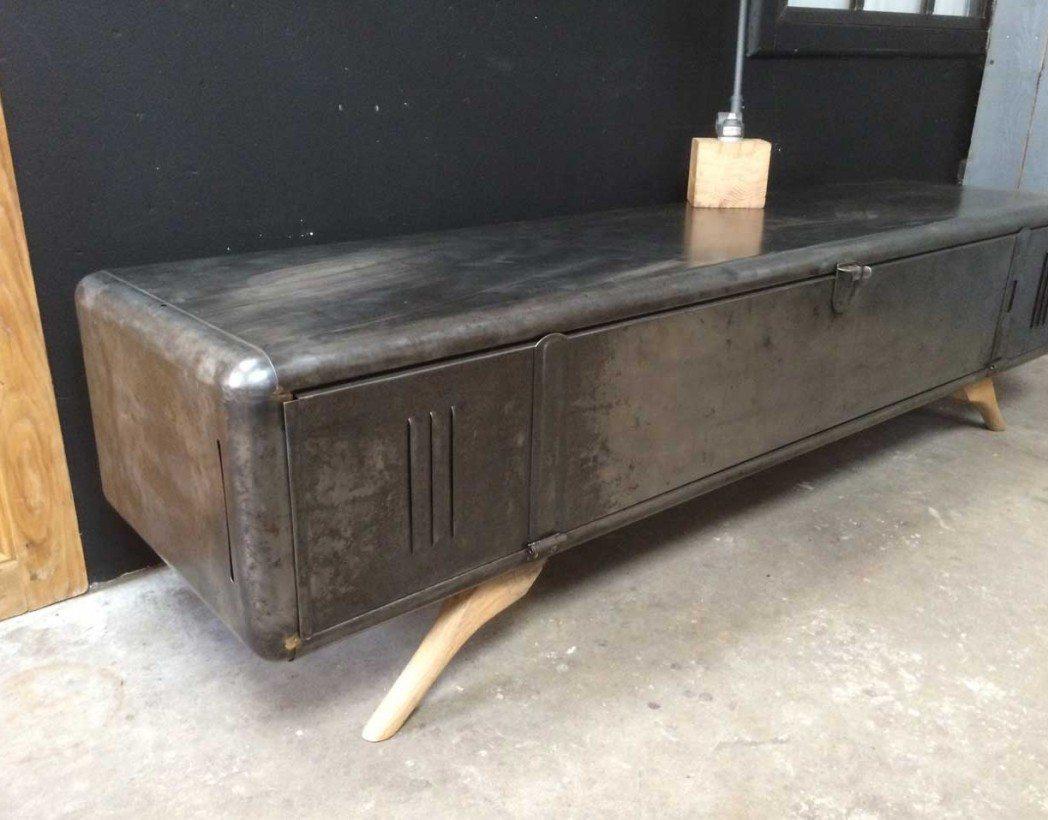 meuble tv vestiaire arrondi