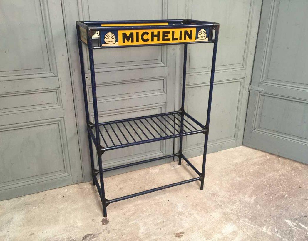 ancienne etagre michelin garage vintage atelier industrielle 5francs