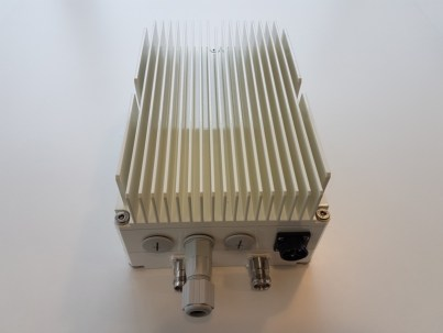 A CableFree Remote Radio Head (RRH) used for O-RAN network