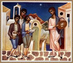 Τα βυζαντινά κάλαντα από τους μαθητές του 5ου ΓΕΛ