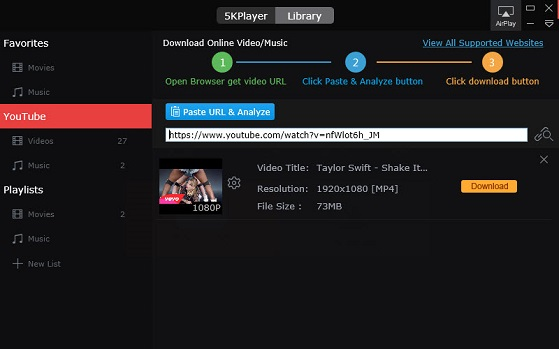 How to Download video from URL in YouTube