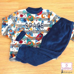 pijama niño coralina space