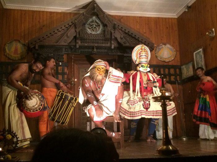 Kathakali in Cochin