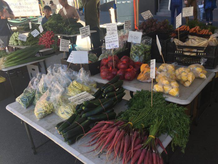 Fresh Veg Salamanca Market