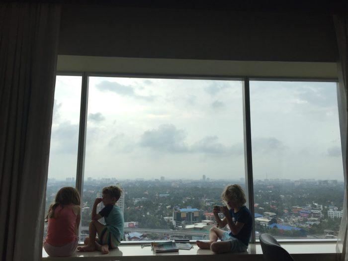 Kochi Marriott view