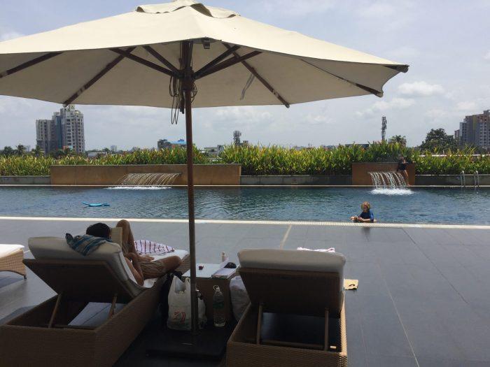 Kochi Marriott pool