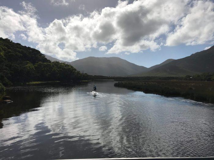 Paddling Tidal River