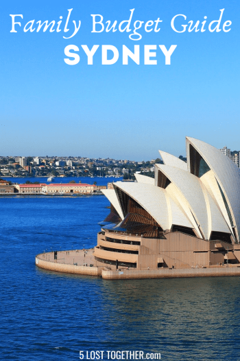 Sydney with kids on a budget