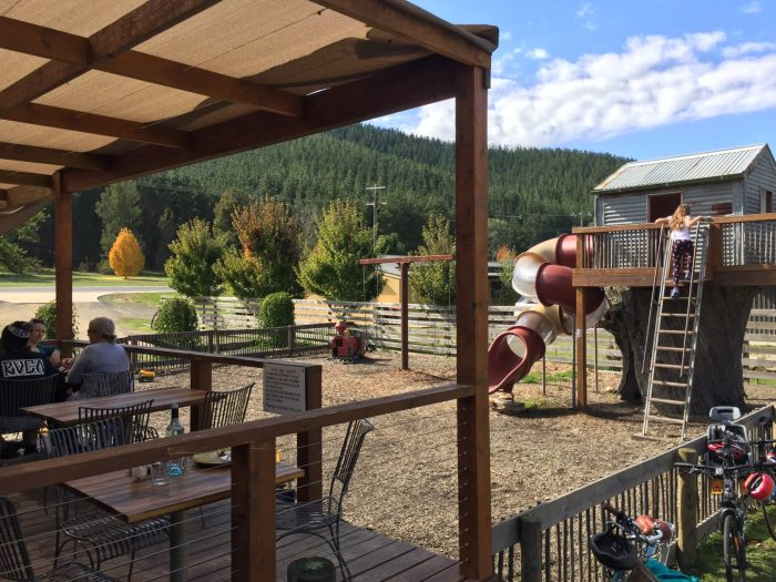 Cafes with playgrounds