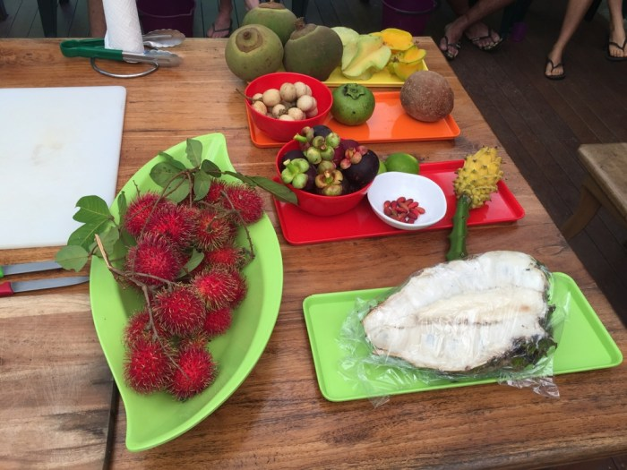 Daintree fruit tasting