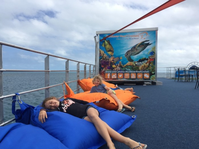Lounging Great Barrier Reef