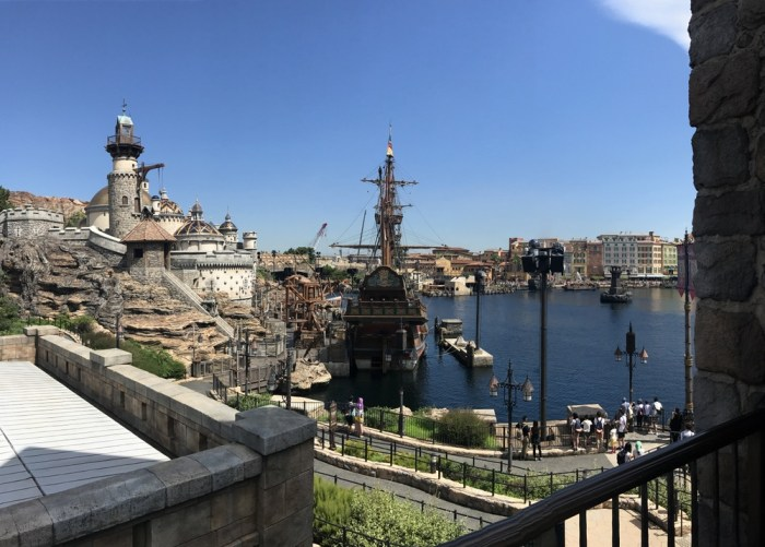 Disney Sea themes