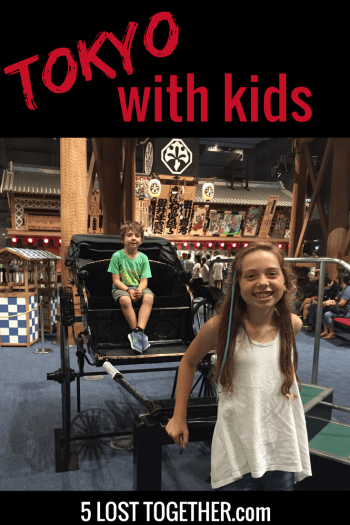 20 Things to do in Tokyo with Kids