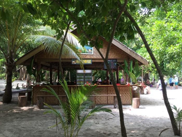 Conflict Islands beach bar