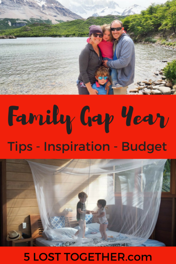 How to take a family gap year