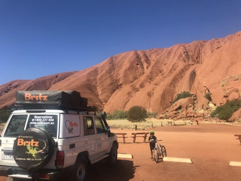 Road trip to Uluru
