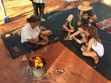Karrke Aboriginal Cultural Tour, Kings Canyon