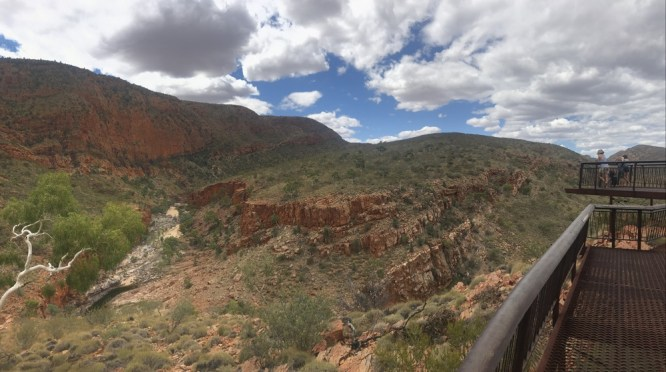 Ormiston Gorge Ghost Gum Lookout