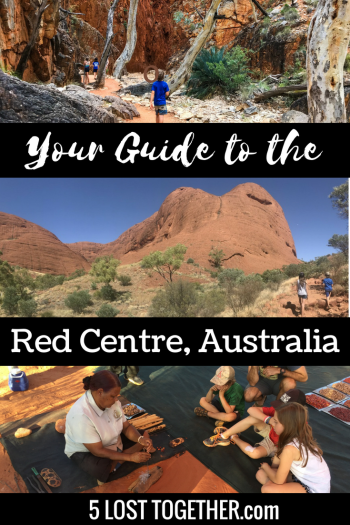 Red Centre Central Australia Itinerary